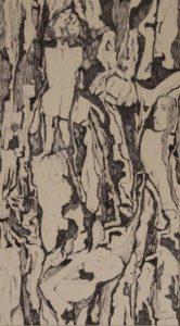 Dietro la corteccia. China su carta 1992 21x38